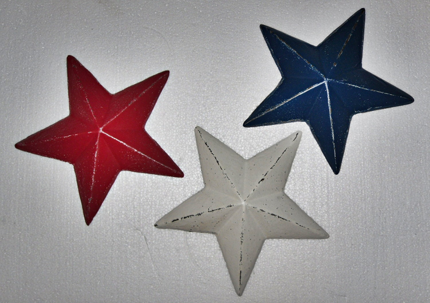 Blue Star Wall Decor : Wall decor star cast iron stars by