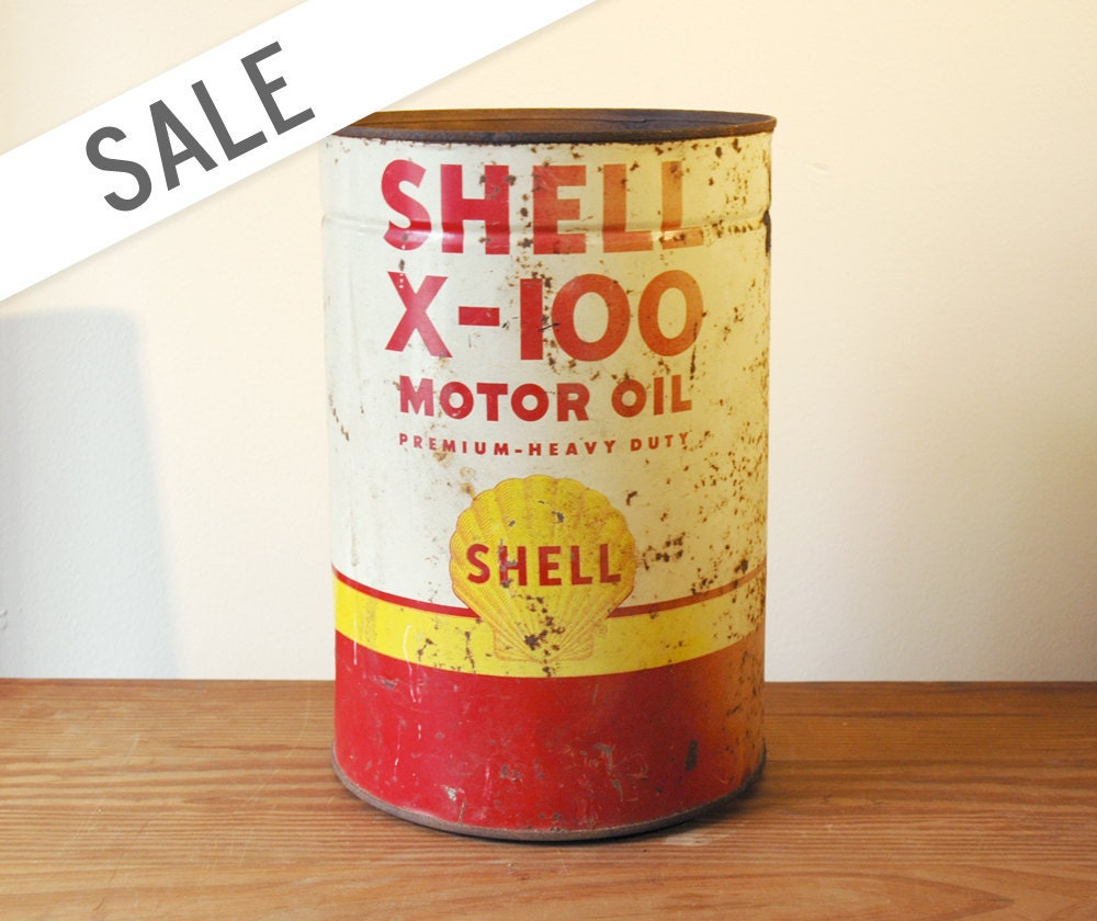 Vintage quart motor oil can for Quart of motor oil
