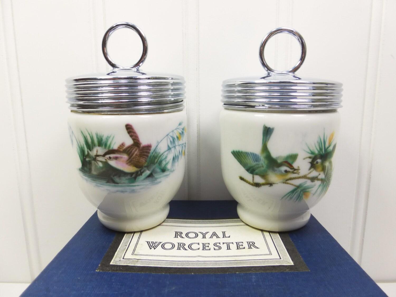 royal worcester porcelain egg cups