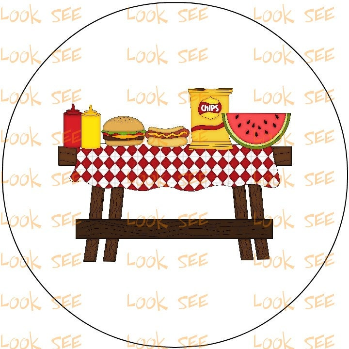 spring picnic clipart - photo #29