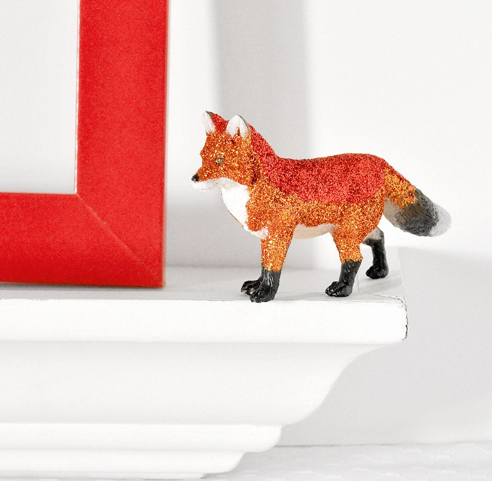 Fox Centerpiece Woodland Home Decor For Spring Summer By Wishdaisy