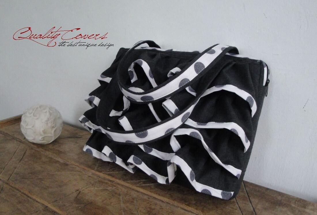 Image du produit Sac dordinateur portable personnalisable sac fourretout pour tissu de couleur et de taille entirement rembourr sac main Hidden grande poche
