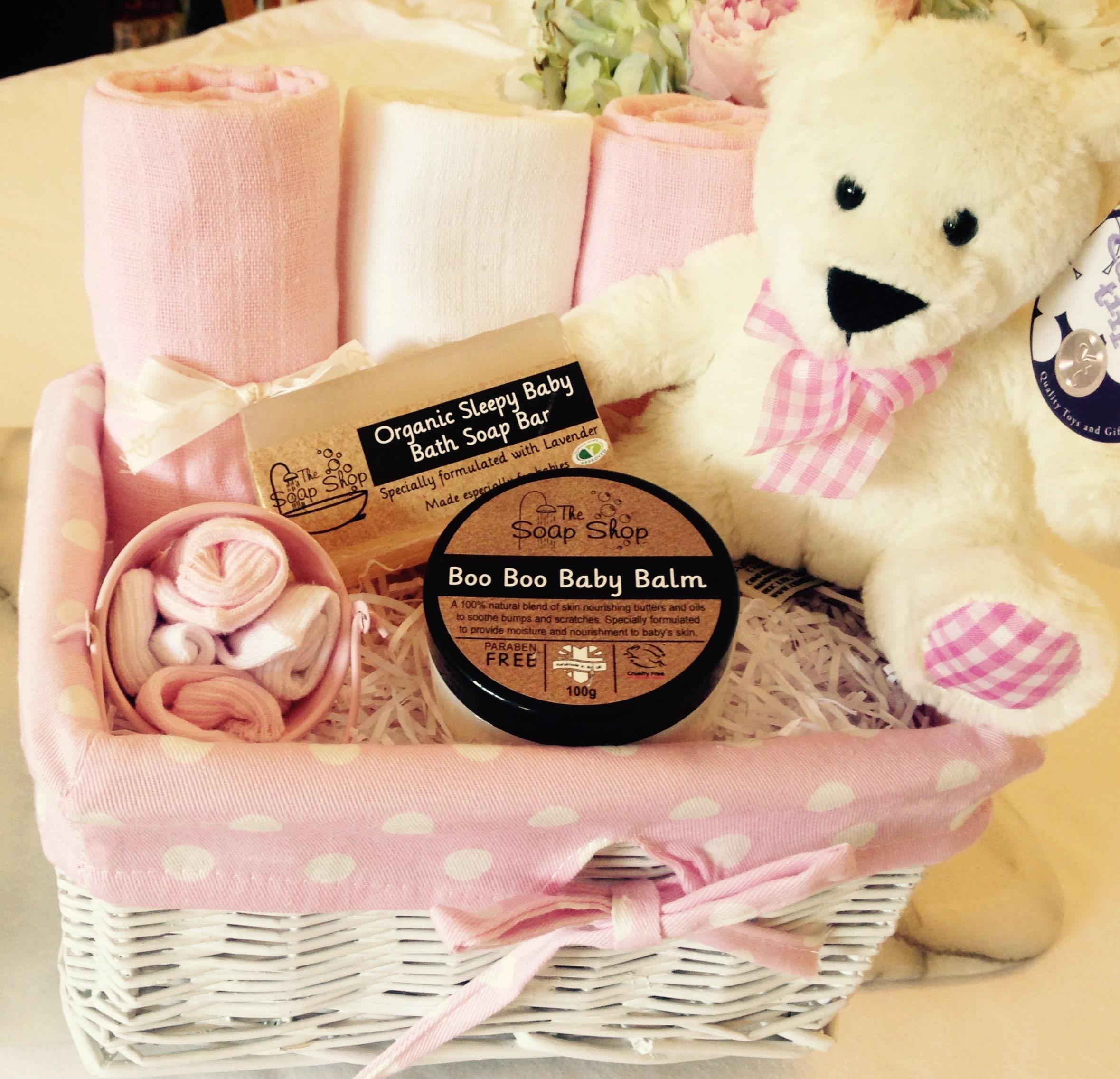 baby girl hamper basket  baby girl baby shower gift  new born gift set maternity gift  baby shower gift   bath time basket