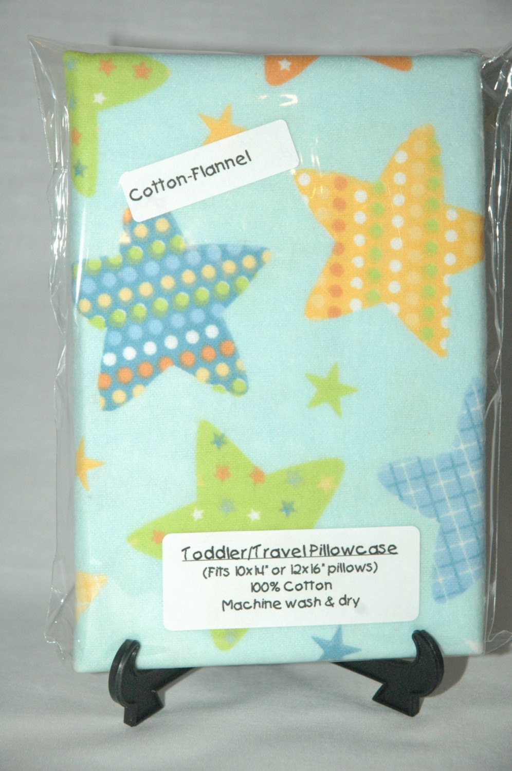 Stars Toddler/Travel Size Pillow Case by cutiepatootiegifts