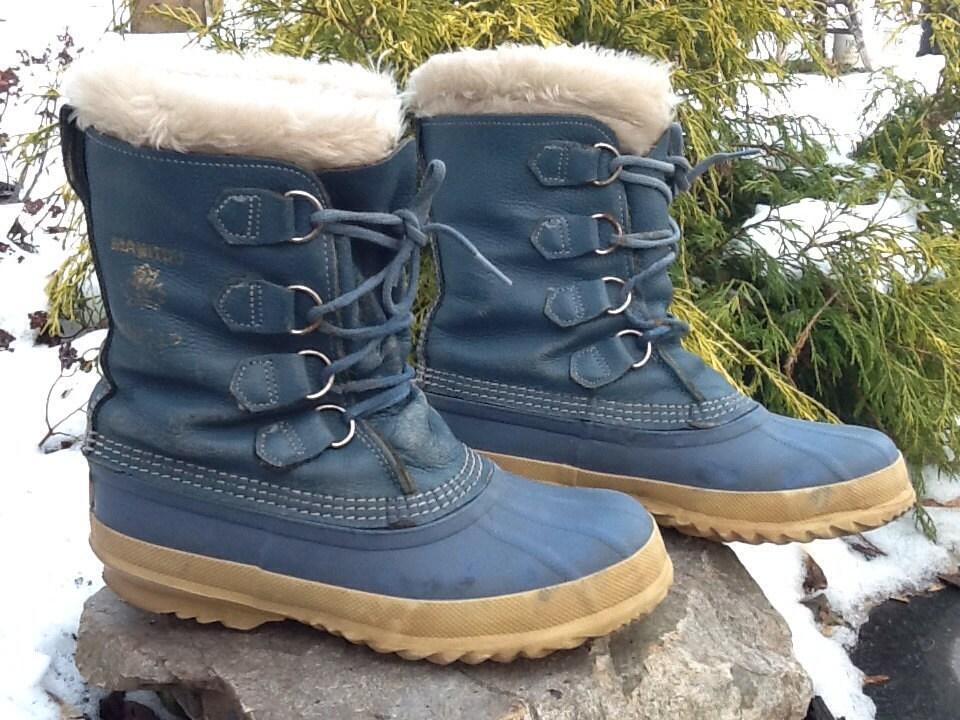 Sorel Kaufman Women's Felt Pac Manitou Warm Winter Snow Boots Size 7 - IKnowWhatImWearing
