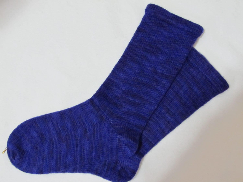 Knitting Pattern For Diabetic Socks : Hand Cranked Diabetic Socks Womens 6-7 shoe size by wyopotter