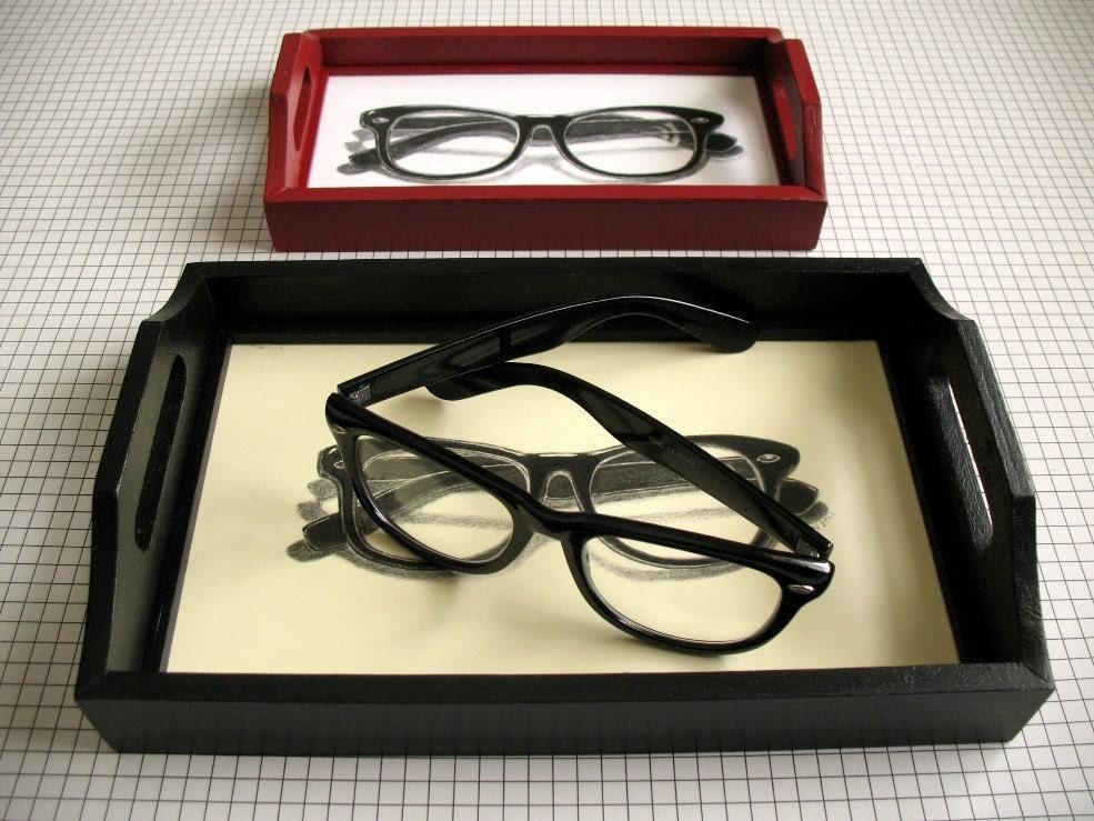Dork очки черный лоток очков
