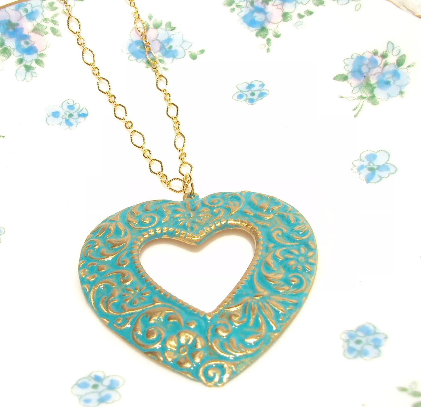Heartstrings - Heart Necklace
