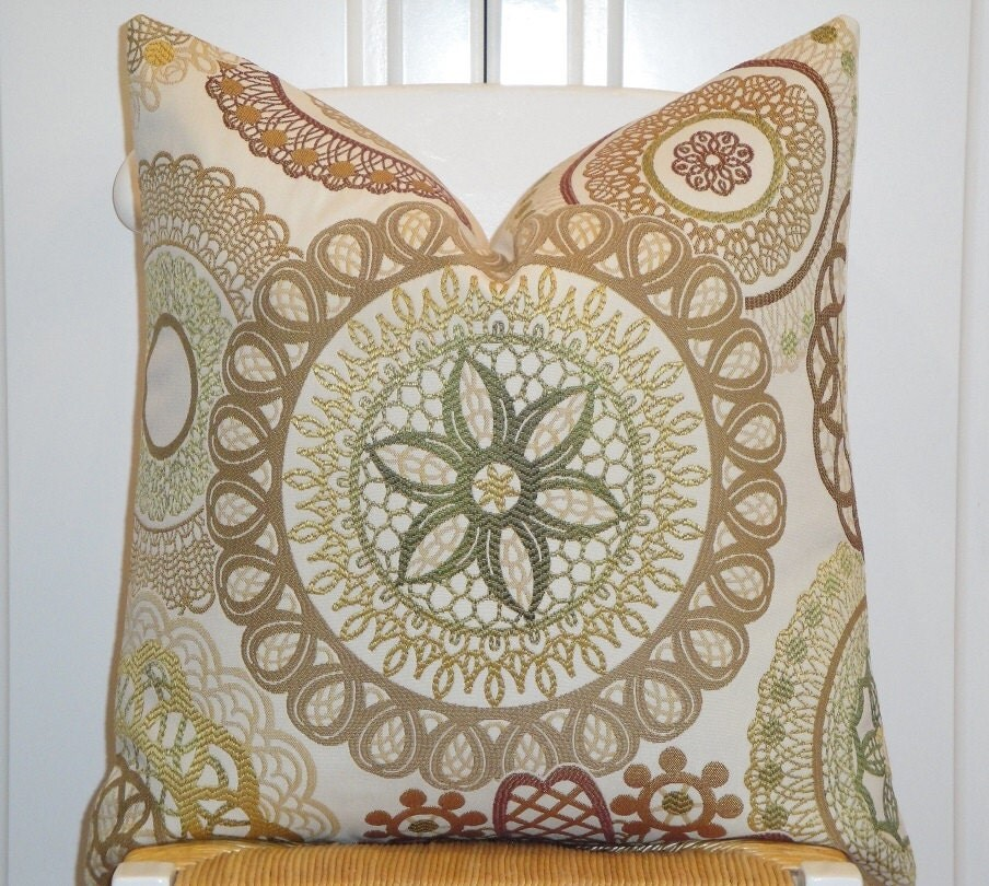 Throw Pillow Covers 20 X 20 : Decorative Pillow Cover 20 x 20 Accent by TurquoiseTumbleweed