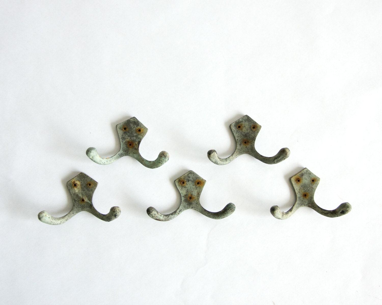 Vintage Bronze Coat Hooks Metal Hanging Hooks By