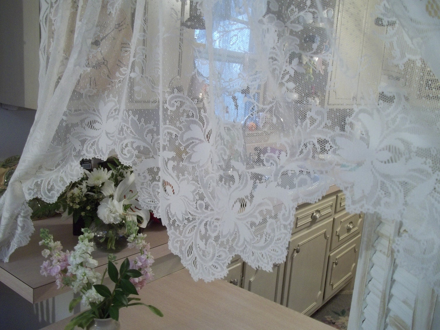 ... Victorian style design panel valance curtain by hermina's cottage