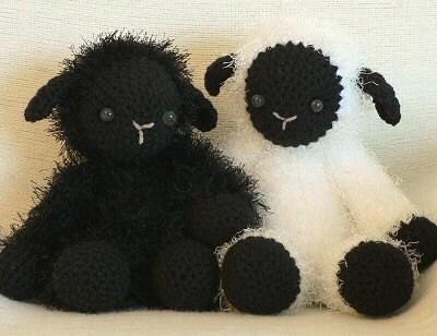 Etsy Amigurumi Sheep : Fuzzy Lamb amigurumi PDF CROCHET PATTERN by PlanetJune on Etsy