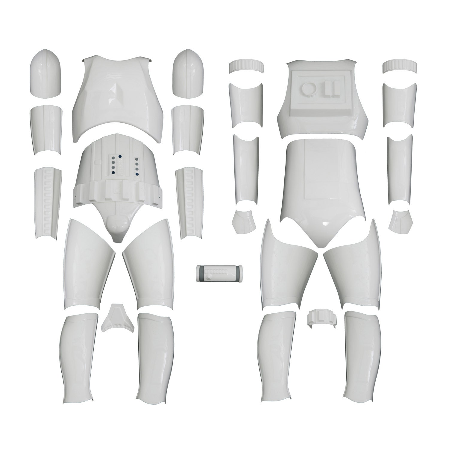 Star Wars Stormtrooper Costume Armour  Original Replica  A New Hope  Kit Version 1 WITHOUT HELMET