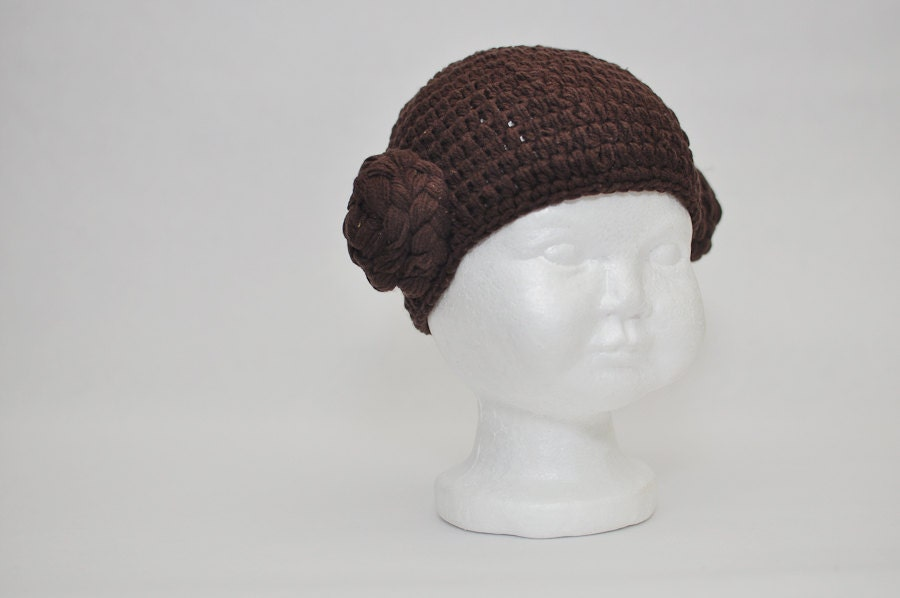 Princess Leia hat crocheted baby hat photo prop children hat