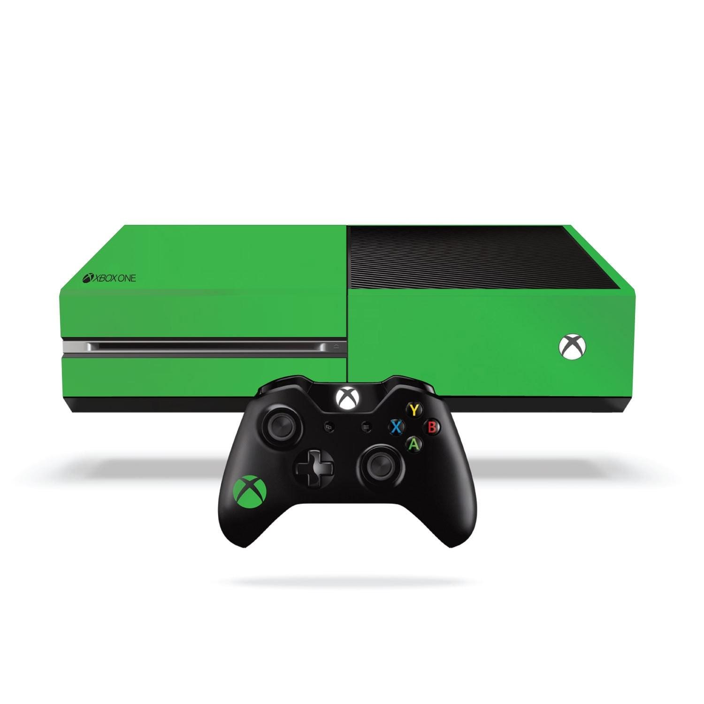 Xbox One Fluorescent Vinyl Wrap Bright Green