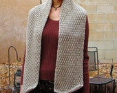 Textured Wool Scarf - Unisex - Desert Harbor