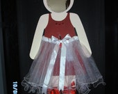Red Shoes Ballerina Mirror