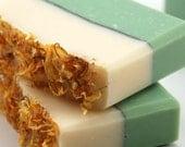 Green Tea Soap Handmade Cold Process, Vegan Friendly