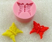 Butterfly Flexible Mini Mold/Mould (21mm) for Crafts, Jewelry, Scrapbooking (resin, Utee,  pmc, polymer clay) (115)