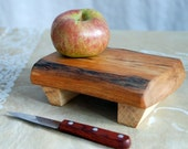 Quirky Wee Cutting Board in Salvaged Cherry - Wood Serving Tray - Small