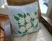 vintage tablecloth pillow covers