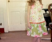 Sew Pattern PillowCase Dress Embellished ePATTERN (6m-6y)