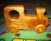 Lil Locomotive Wood Train Cherry