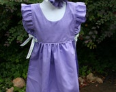Over the Head Pinafore Apron