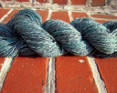Hand dyed BFL worsted in Mediterranean colorway 153 yards
