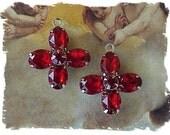 Siam Swarovski Crystal Cross