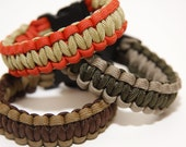"Tactical Wristbands w/ 5/8"" Plastic Clasp"