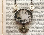 Summer Memories - Vintage Inspired Assemblage Necklace