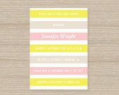 Printable DIY Invitation - Baby or Bridal Shower