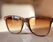 Vintage Wayfarer Sunglasses Fallow Brown/ Chrome/ Black/ Light Brown by Polaroid . Coupons Apply