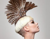 Couture Wings Headpiece--Africa
