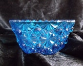 Kobalt Blue Glass Decorative Bowl