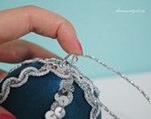 Ornament Kit - Moonlight - Make your own no sew fabric ball