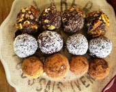 gluten free joyful (holiday) chocolate truffle assortment - pick your mix