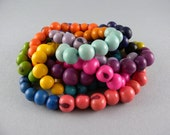 Acai Seed Rainbow Necklace with Free Shipping