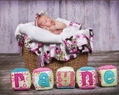 Personalized Name Soft Baby Blocks