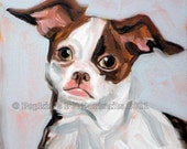 Choose Two Signed pet portrait archival Giclee Prints 8x10