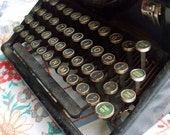 Vintage typewriter Woodstock - great boutique or wedding decoration