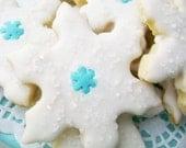 Sale ...Crystal White Snowflake Delight Sugar Cookies