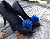 Something Blue Shoe Clips