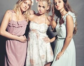 Bridesmaids dress - mix it up.