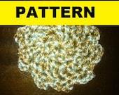 Free Crochet Scrubbie Pattern -- Plarn Dish Scrubber to Crochet