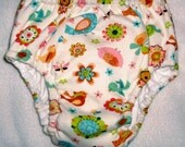 handsewnbyme Pull Up Style Cloth Potty Training Pants WITHOUT Waterproof Layer Size Small Up To Approx. 25 Pounds