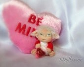 "Valentine  Baby Troll Cute  ""Be Mine Valentine ""  Baby Doll, Decoration for Home, TT Team"