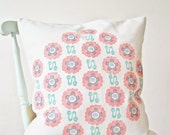 Oriental Poppy Cushion