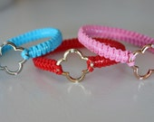 Red Swarovski Charm Crystal Bracelet